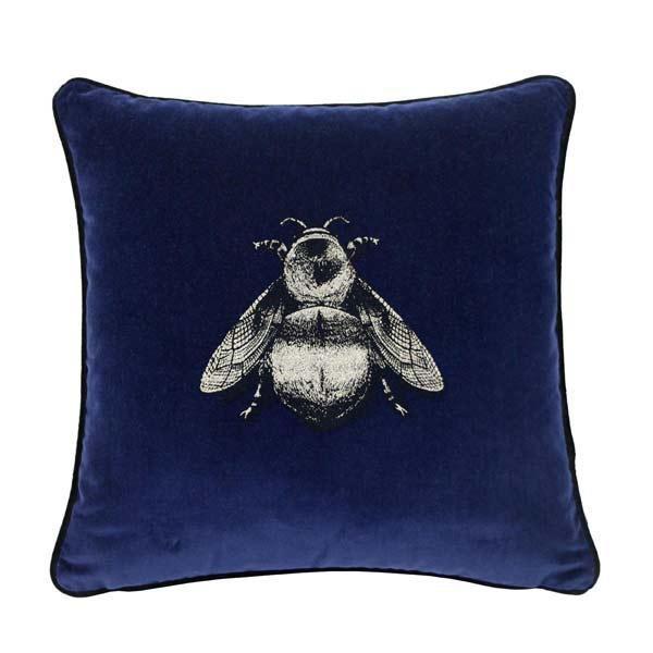 12 TB-Navy-Bee-cushion