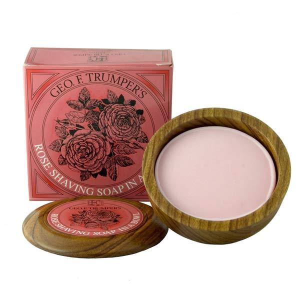 6 Trumper rose-shaving-soap-bowle