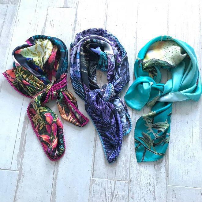 Diana-Wilson-Arcana shawls