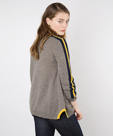 NEEDLE AW18 Nala Sports Luxe Cashmere Jumper