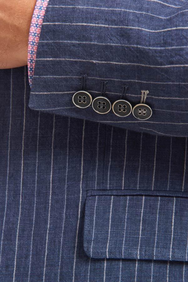 Abrahams-Striped-navy-linen-detail
