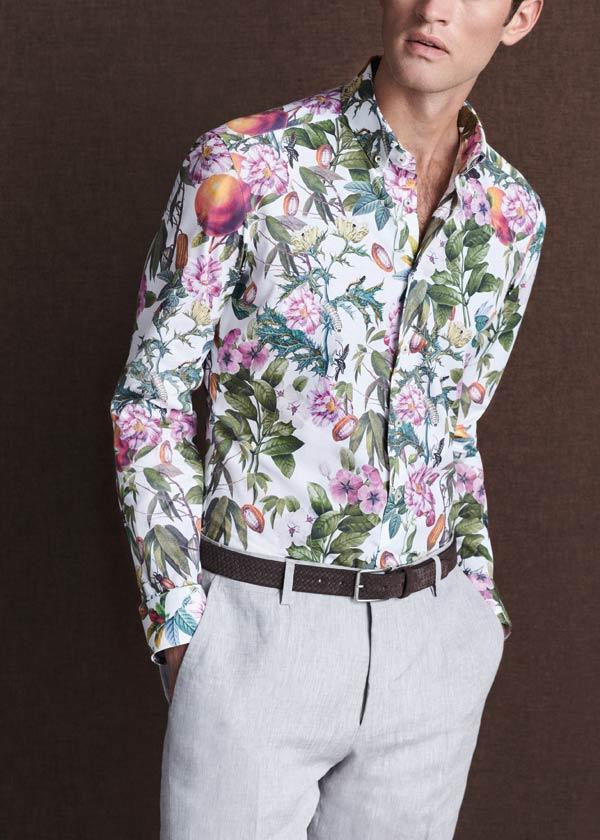Eterna-green-print-shirt-5995