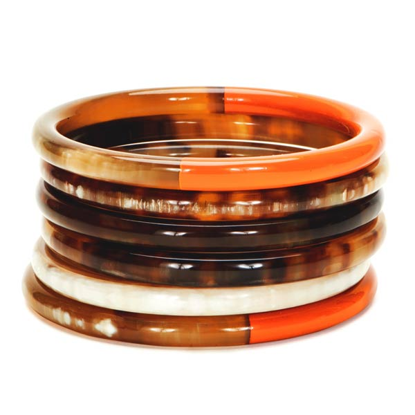 Lindochineur-Horn-lacquered-bangles