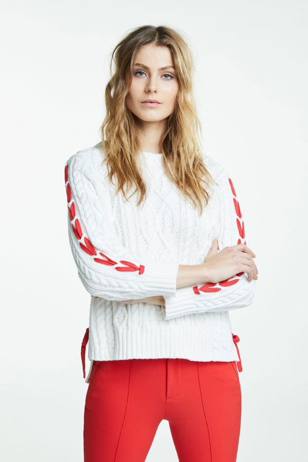 OUI-Ivory-sweater-with-red-trim-145